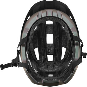 Fox Flux Solid Trail Helmet Herren black iri